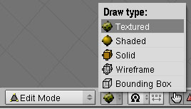 Blender: Draw Mode Menu (Texture)