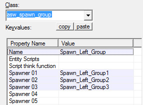 Alien Swarm SpawnGroup