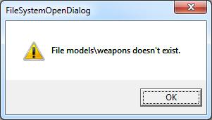 Model Folders Dont Exist